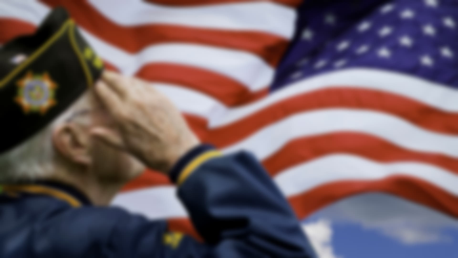 Veterans Day - Flag of the United States